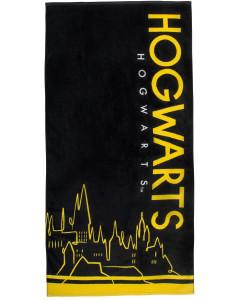Harry Potter - Serviette 70 x 140 cm Hogwarts