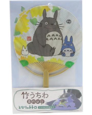 Mon Voisin Totoro - éventail en bambou Sun Flower