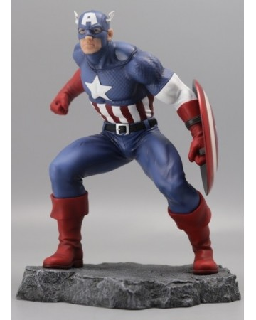 Marvel - Civil War - Statue Captain America