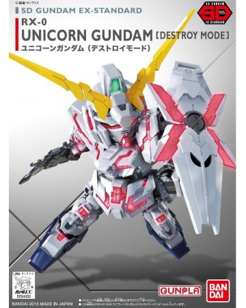 Gundam - SD EX-Standard Unicorn Destroy Mode
