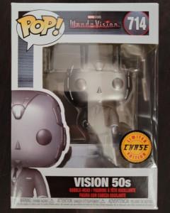 Marvel Studios : Wandavision - Pop! - 50s Vision n°714 CHASE