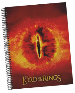 Lord of the Rings - Carnet A5 spirales Eye of Sauron
