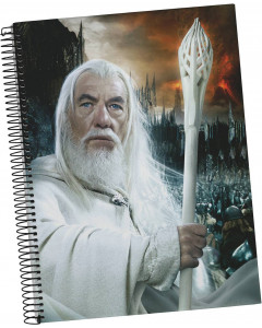 Lord of the Rings - Carnet A5 spirales Gandalf