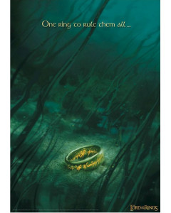 Lord of the Rings - Affiche lithographie 42 x 30 cm 995 exemplaires