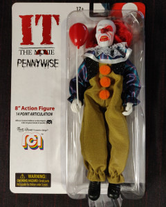 It 1990 - Figurine Pennywise Burned Face 20 cm