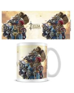 Zelda : Breath Of The Wild - Mug Champions Sunset