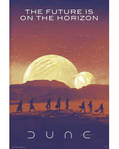 Dune - Grand poster The Future in on the Horizon (61 x 91,5 cm)