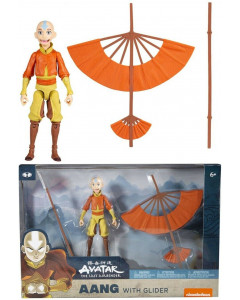 Avatar : The Last Airbender - Figurine pack Aang with glider 13 cm