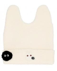 Mon Voisin Totoro - Bonnet Totoro blanc