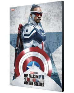 Marvel Studios : The Falcon and The Winter Soldier - Tableau Captain America