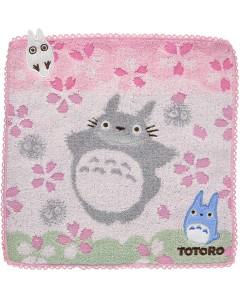 Mon voisin Totoro - Serviette Cerisiers 25 x 25 cm