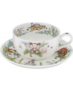 Mon voisin Totoro - Tasse porcelaine + sous-tasse Liseron