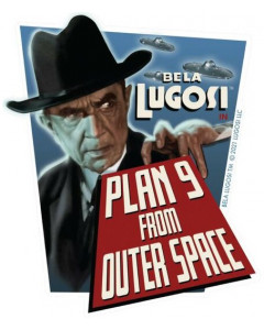 Bela Lugosi - Sticker Plan 9 From Outer Space