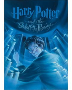 Harry Potter - Affiche lithographie Order of the Phoenix Book Cover 61 x 43 cm