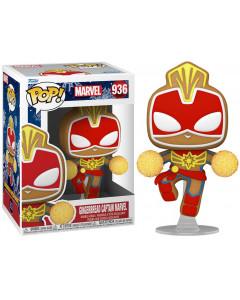 Marvel - Pop! - Holiday Gingerbread Captain Marvel n°936