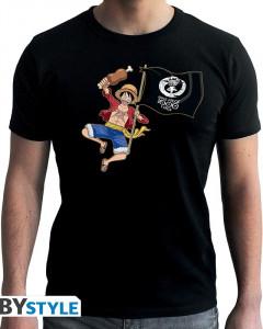 One Piece - T-Shirt Luffy 1000 Logs