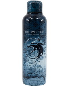 The Witcher - Bouteille en acier inoxydable isotherme