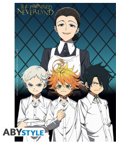 The Promised Neverland - Poster Maman & Orphelins 52 x 38 cm