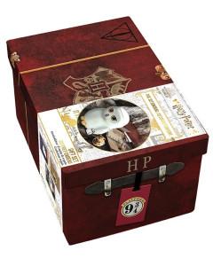 Harry Potter - Coffret cadeau Mug 3D et pins Hedwige + Porte-clés 3D Golden Snitch