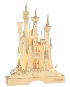 Disney - Château illuminé de Cendrillon 39 cm