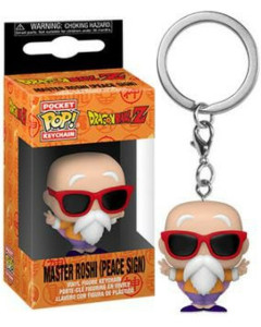 Dragon Ball Z - Pop! Pocket - porte-clé Master Roshi Peace Sign