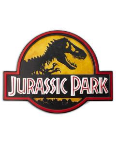Jurassic Park - Panneau métal Logo