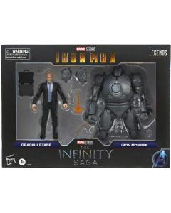 Marvel Legends - 2-Pack Figurines Obadiah Stane & Iron Monger (Iron Man)