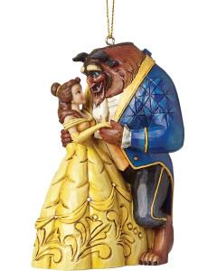 Disney - Traditions - Ornement de sapin La Belle et la Bête (Beauty & the Beast)
