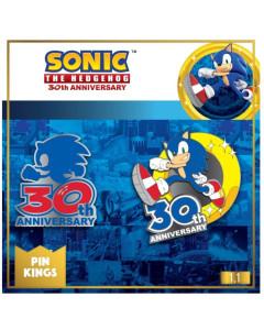 Sonic - Set 2 pins émaillés 30th Anniversary