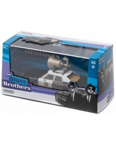 The Blues Brothers - 1/43 1974 Dodge Monaco Bluesmobile w/ Horn