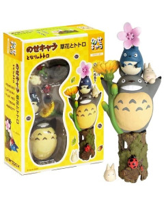 Mon voisin Totoro - Set de figurines Fleurs