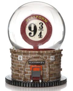Harry Potter - Boule à neige Platform 9 3/4 Hogwarts Express