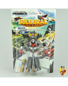 Goldorak - Figurine Retro Manga Mini Metal Fabbrica 12cm
