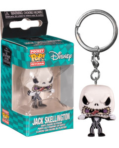 Nightmare Before Christmas - Pop! Pocket - porte-clé Jack Scary Face