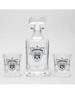 Peaky Blinders - Set Carafe décanteur + 2 verres Garrison Tavern