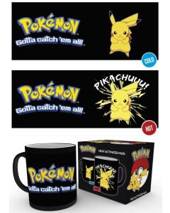 Pokemon - Mug thermo-réactif Pikachu