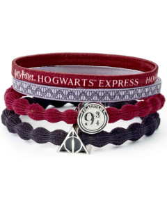 Harry Potter - Set d'élastiques Deathly Hallows & Hogwarts Express