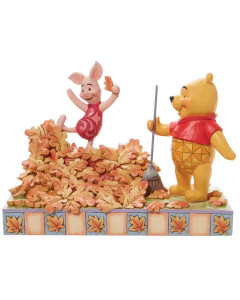"""Disney - Traditions : Winnie l'Ourson - Pooh and Piglet """"Jumping into Fall"""""""