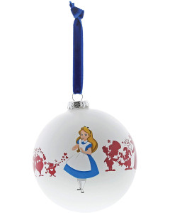 Disney - Boule de sapin Alice in Wonderland