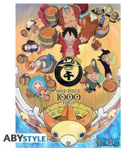 One Piece - poster 1000 Logs Fête (52 x 38 cm)