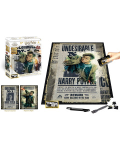 Harry Potter - Puzzle Scratch 500 pièces Harry Wanted