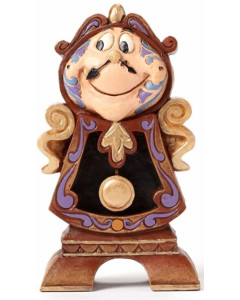 """Disney - Traditions : Beauty & The Beast - Cogsworth """"Keeping Watch"""""""