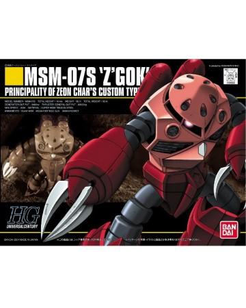 Gundam - HGUC 1/144 MSM-07S Z'Gock Char's Custom