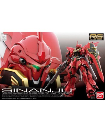 Gundam - RG 1/144 MSN-06S Sinanju