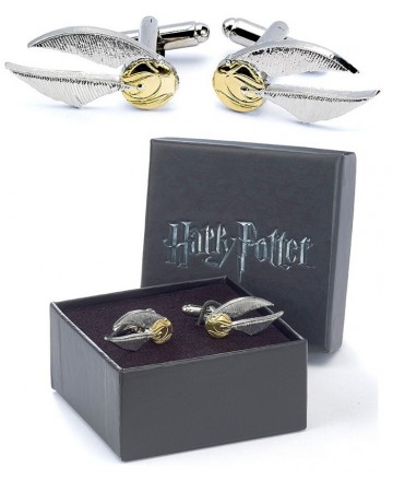 Harry Potter - Boutons de manchette Vif d'Or