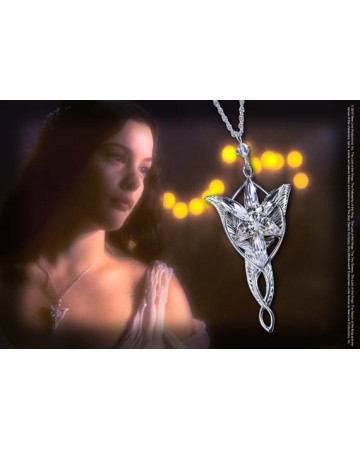 Lord of the Rings - l'Etoile du Soir, pendentif d'Arwen