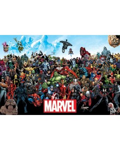 Marvel - Grand poster Universe