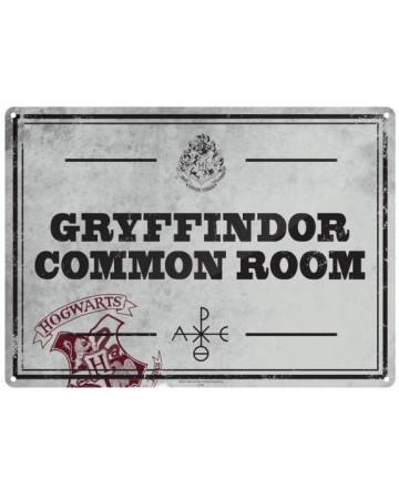 Harry Potter - Panneau métallique Quidditch World Cup