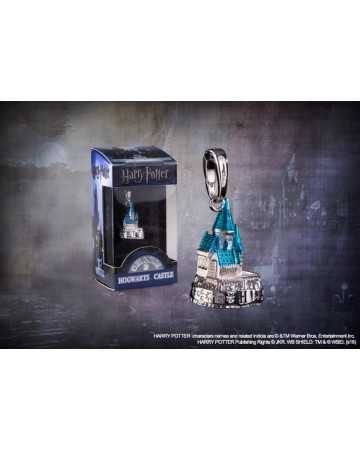 Harry Potter - Charm Lumos - Poudlard argenté