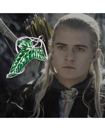 Lord of the Rings / The Hobbit - broche de la Lorien (plaqué)